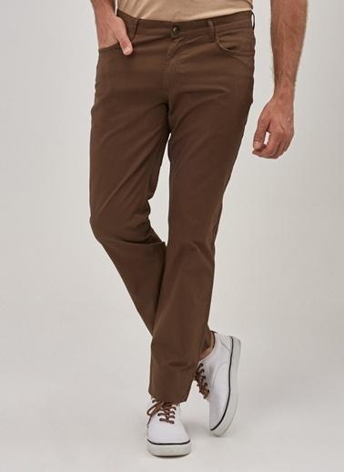 Altınyıldız Classics Kanvas Slim Fit Dar Kesim 5 Cep Pantolon 4A0119200004 Vizon